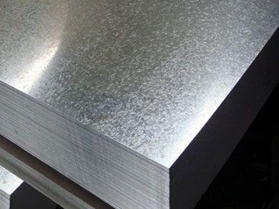 Chapa de aço carbono galvanizada