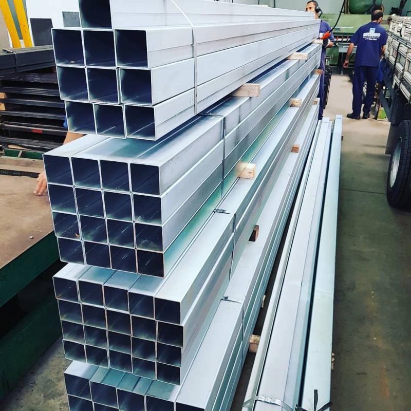 Distribuidor tubos de aço