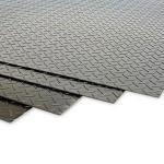 Chapa xadrez de aço carbono