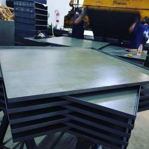 Formas de aço para concreto